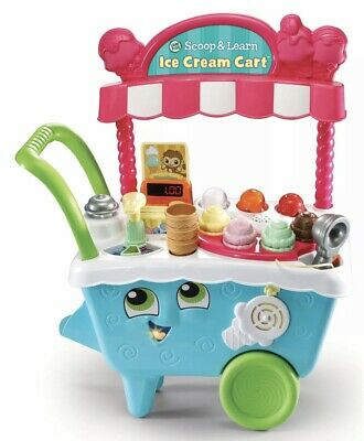LeapFrog Scoop And Learn Ice Cream Cart 2+ Years • 47.99£