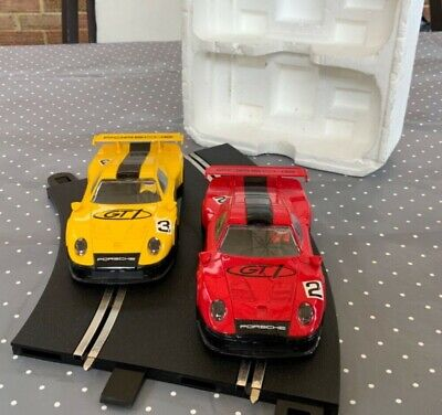 Pair Of Scalextric Porche Gt1 Cars • 39.99£