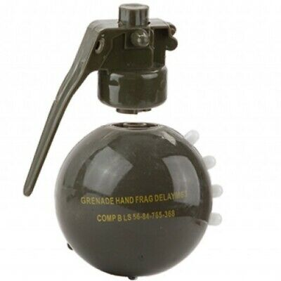 Kids Army Ammo Grenade Toy Musical Spinning Light Up Boys Soldier Role Play • 6.50£
