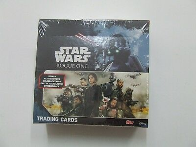 Topps Star Wars Rogue One BOX Display 36 Boosters Packs 180 Cards • 12£