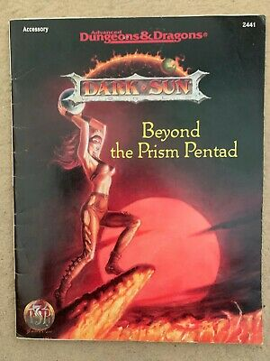 Beyond The Prism Pentad AD&D 2nd Edition Dark Sun Adventure TSR 2441 Used • 10.50£