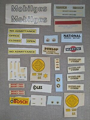 Large Selection Of  Decals/transfers To Suit Corgi / Dinky Etc. - FREE DELIVERY! • 10£