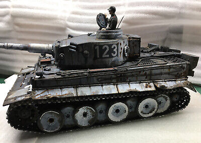 Henglong 1/16 Scale German Tiger 2.4GHz Remote Control Battle Tank (3818-1) • 220£