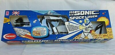 Crescent Toy Sonic Space Gun In Box (completely Oiriginal) Based On Startrek.  • 95£