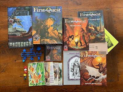 AD&D First Quest Box Set Advanced Dungeons Dragons 2nd Edition / 1994 TSR • 19.99£