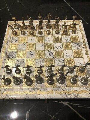 Antique Vintage Chess Set • 60£