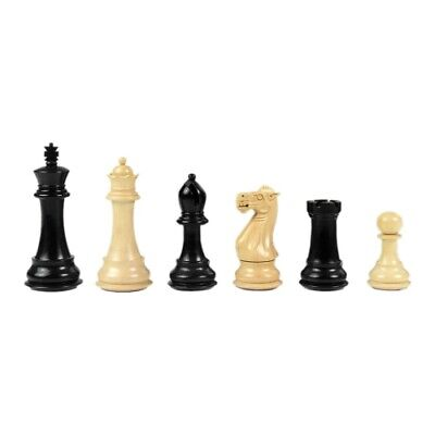 Chess Figures - Staunton - Black Varnished - Kings Height 102 MM • 154.68£