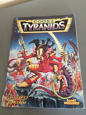 Games Workshop Warhammer 40K CODEX TYRANIDS 2nd Edition 40K, 1995 • 6.70£