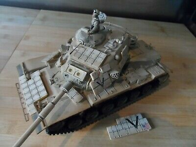 UNIMAX FORCES OF VALOR 1:32 Scale Die-Cast Metal TANK DESERT DEFENCE? • 8.50£
