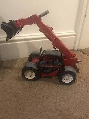 Bruder Manitou Telescopic Front Loader MLT 633 Turbo Farm Construction Toy Model • 11£