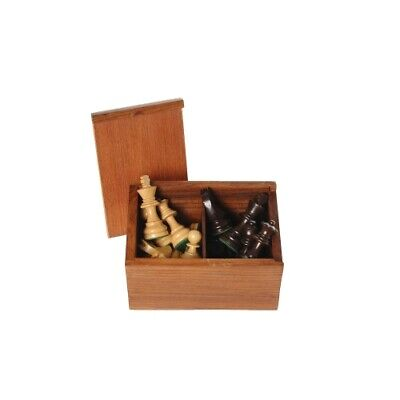 Chess Pieces Black Natural King's Height 76 MM • 55.31£
