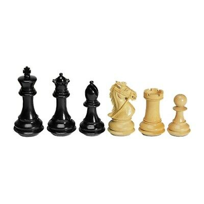 Chess Figures - Ebony And Boxwood - Kings Height 102mm • 484.63£