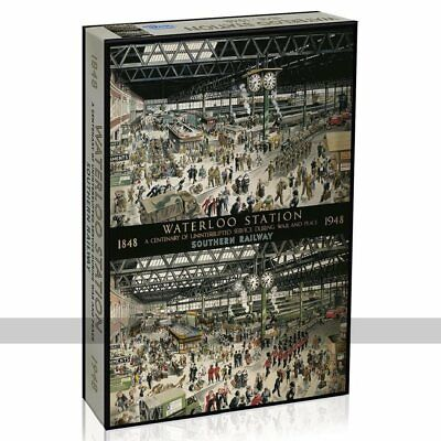Gibsons Waterloo Station 1000 Piece Jigsaw Puzzle • 25.49£