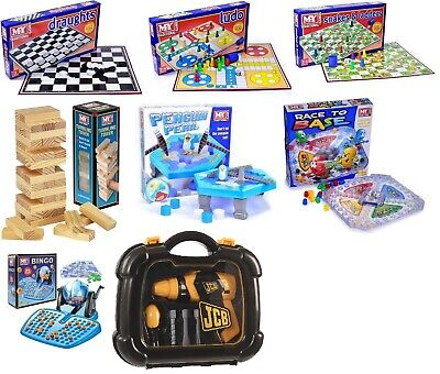 MY Traditional Board Games Classic Family Childrens Kids Fun Modern Board Game • 9.95£
