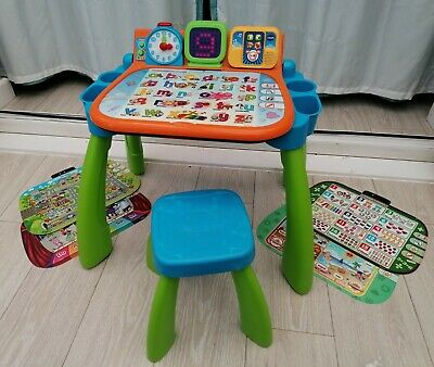 VTech Touch & Learn Activity Desk LED Toddler Activity Toy Interactive Table • 28.50£