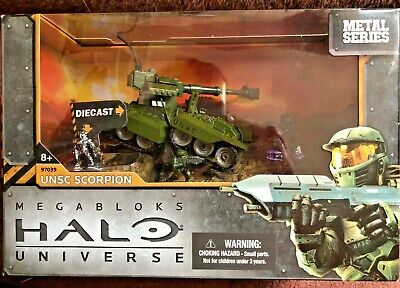Mega Bloks HALO Universe 97039 UNSC Scorpion Tank - Metal Series - New & Sealed • 19.50£