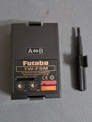 Futaba Tw-fsm Fully Synth 35 Meg Transmitter Module, New Condition • 16.85£
