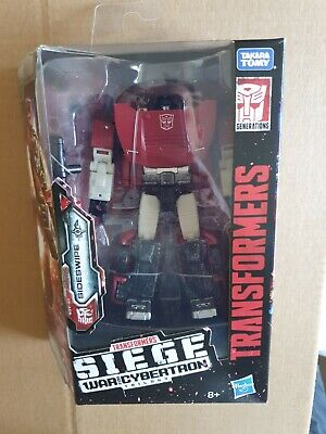 Sideswipe Transformers War For Cybertron Siege Deluxe Class Action Figure • 20.50£