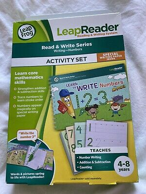 Leap Reader Read & Write Series Activity Set 4-8 Years • 10£