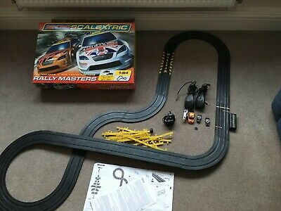 Micro Scalextric Rally Masters Boxed Set With Track And Cars • 7.80£