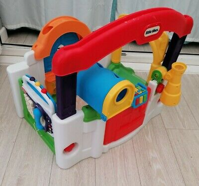 Little Tikes Activity Garden House Play Centre Baby Toy  Baby Station • 26.50£