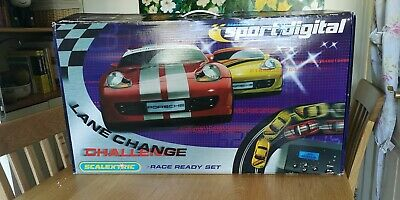Scalextric Digital Sport Lane Change Challenge Racing Set • 23.80£