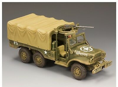 BBA038 WW2 US American WC63 Army Truck Battle Of Bulge Normandy D-Day BBA 38 • 129£
