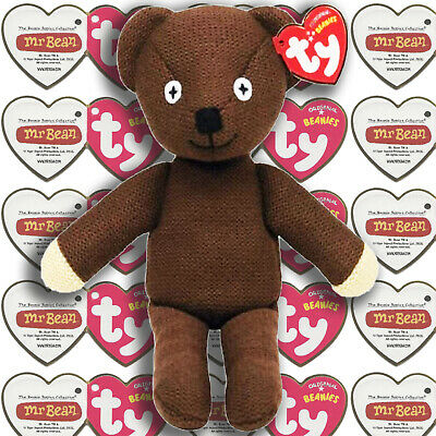 Official *Mr Bean Teddy Bear* - Licenced Product By TY UK Ltd. • 9.49£