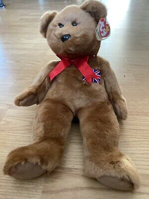 TY BEANIE BUDDY BRITANNIA With Tag 1999 Retired, NEW Uk Exclusive • 1.30£