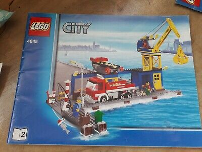 Lego City Harbour 4645 Instructions Book 2 Only X 1 • 6.75£