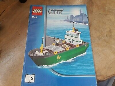 Lego City Harbour 4645 Instructions Book 3 Only X 1 • 6.75£