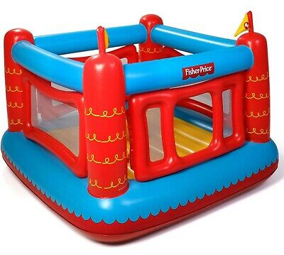 Fisher-Price Bouncetastic Inflatable Bouncer Kids Bouncy House Castle • 20£