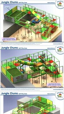 Used Soft Play Structure  • 640£