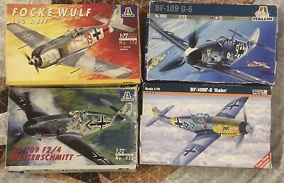 1/72 German Military Aircraft Model Kits • 16£