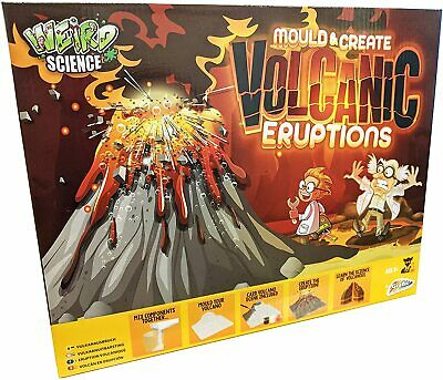 Children's Kids Make Your Own Erupting Volcano - Science Experiment Toy GIFT • 7.75£