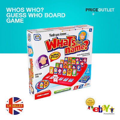 Whos Who? Guess Who Board Game Traditional Classic Kids Family Gift Toy • 6.99£