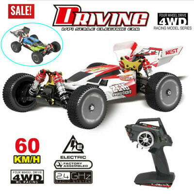 60km/H Wltoys XKS 144001 RC Car High Speed 1/14 2.4GHz 4WD RTR RC Buggy Car Gift • 84.59£