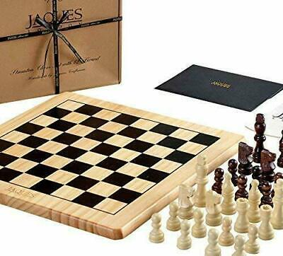 Jaques Of London Chess Set Complete With Pieces - Quality Board And...  • 27.49£