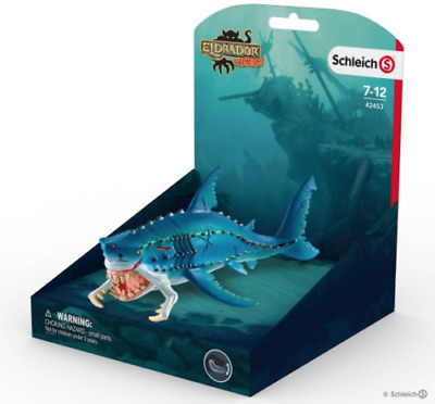 Schleich Eldrador Creatures Monster Fish 42453 Movable Jaw Brand New Free P&p  • 12.99£