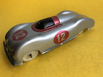 Mercedes 1/43 Tin Racing Record Car Made In Italy            Dinky • 45£