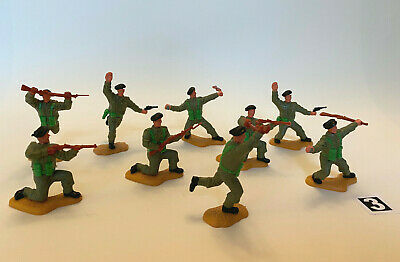 Set Of 9 Timpo Toys British Army Soldiers (3) • 20.65£