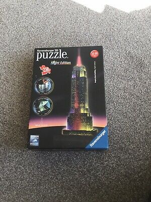 Ravensburger Empire State Building 3D Puzzle Night Light Edition • 2.10£