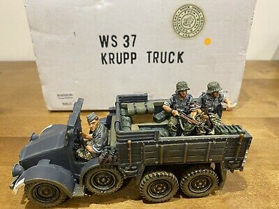 WS037 WW2 German Krupp Trick 3 HJ Crew Mint Boxed Good Condition WS 037 • 185£
