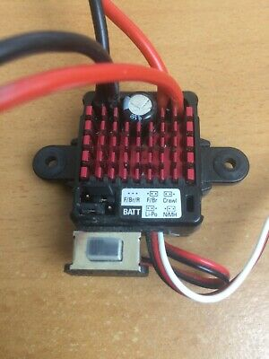 Dynamite DYNS2210 WP 60A Forward / Reverse Brushed ESC Electronic Speed Control • 17.99£