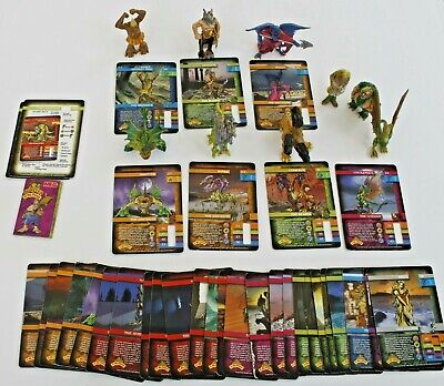 Monster In My Pocket 2006 Job Lot 24 Game Cards And 9 Figures • 20£