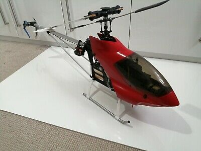 HIROBO SHUTTLE SCEADU 30 NITRO RC HELICOPTER Refurbished With New Parts.  • 149.99£