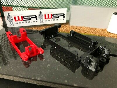 Scalextric Metro - 3D Printed Type R Flat 6 Chassis With Motor Pod • 17.80£