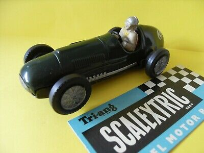 Vintage Scalextric Tinplate Ferrari Racing Car Complete, Working Condition. • 54.95£