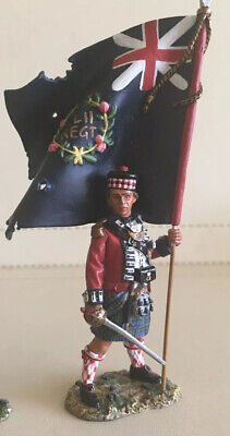 KING AND COUNTRY 1776 Revolutionary War British 42nd Highland Officer 1/30 Model • 25£