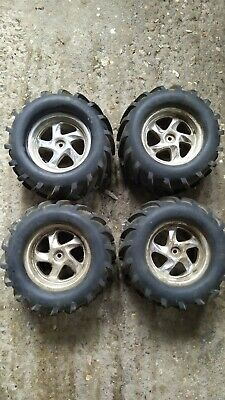 Rc Car Wheels And Tyres Hpi Thunder Tiger. Kyosho. Traxxas Revo T Max • 1£
